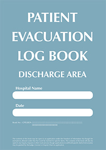 CPES Patient Evacuation Discharge Logbook